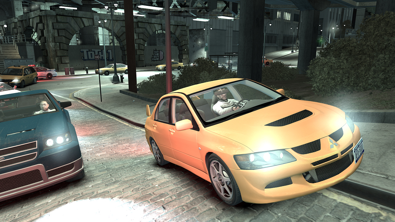 Mod de GTA IV con un Mitsubishi Lancer EVO IX
