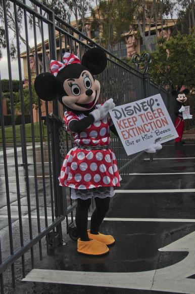 Mickey and Minnie lookalikes arrested at Disney HQ  The