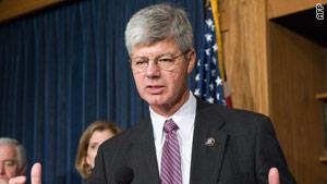 Anti-abortion Democrat Rep. Bart  Stupak of Michigan