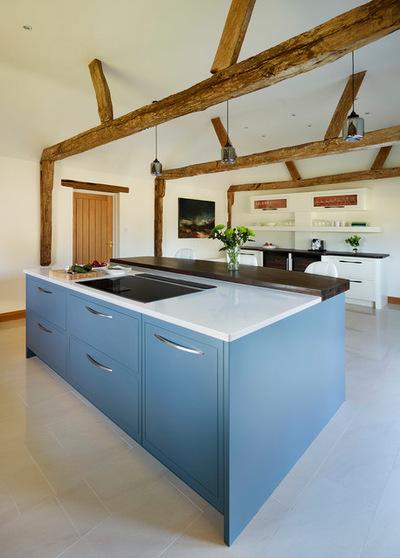 navy blue kitchen decor tops cabinets pompano 家居设计 高冷范家居体验10款蓝色厨房设计 郑州装修 郑州房天下 10个蓝色厨房设计清新靓丽的时尚厨房