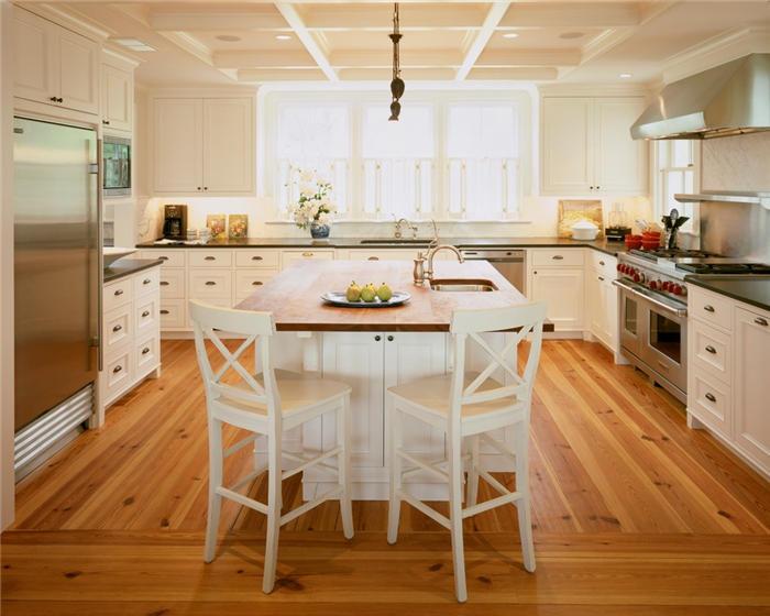 new kitchen island stools with backs 30款厨房装修设计效果图新厨房设计灵感有了 家居快讯 广州房天下家居装修