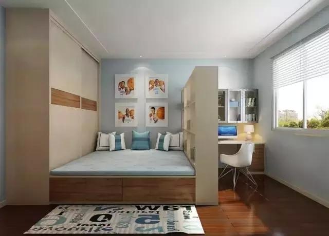 簡約10平米小戶型榻榻米臥室裝修設計 日式家裝風格清新怡人-家居快訊-廣州房天下家居裝修