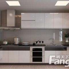 Paint Kitchen Cabinets White Cart Island 白色橱柜厨房如何搭配 流行的橱柜颜色搭配有哪些 房天下装修知识 油漆厨柜白色