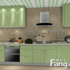 Colors Of Kitchen Cabinets White Laminate 厨房橱柜门尺寸 厨房橱柜颜色选什么好 房天下装修知识