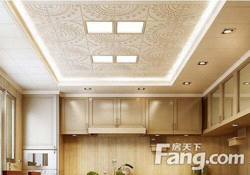 kitchen ceiling fixtures epoxy floor 集成吊顶怎么装筒灯 集成吊顶怎么安装 房天下装修知识