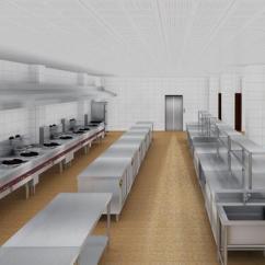 Commercial Kitchen Tile Island Legs 合理设计商用厨房 工作效率提高不止三倍 家居快讯 南宁房天下家居装修 商用厨房