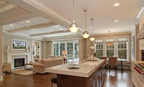 commercial kitchen tile round table sets for 4 商用厨房装修的要点有哪些 商用厨房装修设计要注意哪些 房天下装修知识
