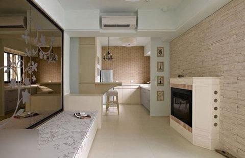 cabin kitchen decor floor designs 小资女40平美式小屋装修双人大浴缸满满的情调 家居快讯 西安房天下家居装修