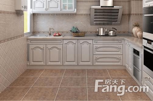 flooring kitchen white porcelain sink 经验 厨房地板砖如何选择 厨房地板砖的选择方法 家居知识 房天下家居装修