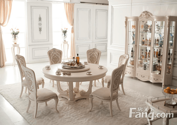 chairs for kitchen table cabinet painting ideas 经验 欧式餐桌餐椅的价格怎么样 家居知识 房天下家居装修
