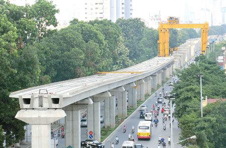 đường sắt trên cao, Cát Linh - Hà Đông, hoàn thành, tiến độ, chậm tiến độ, siêu dự án,
