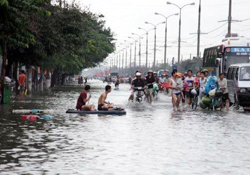 ngập lụt