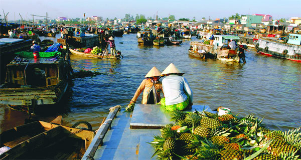 sông Mekong, đập thủy điện, hiểm cảnh, ĐBSCL, biến mất, xâm nhập mặn, khai thác cát
