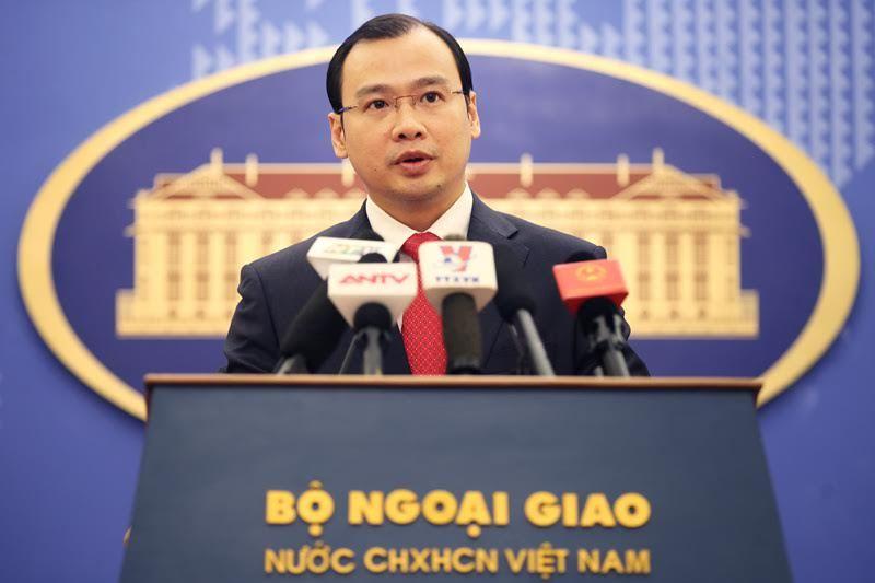 đảo Phú Lâm,người phát ngôn bộ ngoại giao,Hoàng Sa,Biển Đông, chủ quyền