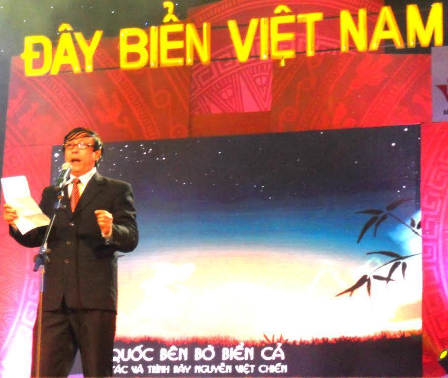 Tổ quốc nhìn từ biển, Hịch tướng sỹ, Hịch tướng sỹ ở biển đông, Nguyễn Vieeth Chiến, Hoàng sa, Trường Sa, Gạc Ma