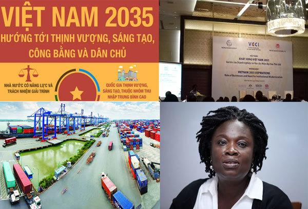 Báo cáo Việt Nam 2035, đổi mới thể chế, kinh tế tư nhân, cải cách kinh tế, môi trường kinh doanh, đổi mới kinh tế, kinh tế tụt hậu, Ngân hàng Thể giới, đầu tư kinh doanh, Vũ Tiến Lộc,