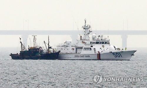 bất ngờ, Triều Tiên, Hàn Quốc, tàu cá Trung Quốc
