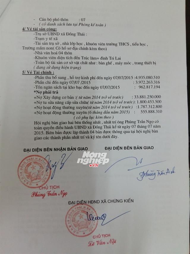 Nợ công, xã Đồng Thái, Hà Nội, quan chức, Ấn tượng trong tuần, Kỳ Duyên, nhà báo Kim Dung