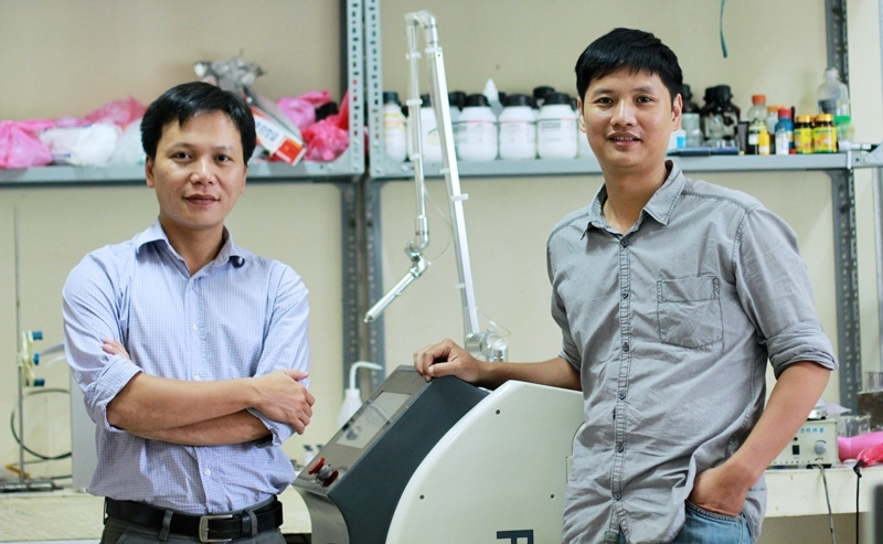 tiến sĩ Việt, khoa học công nghệ Việt Nam, máy phát tia plasma lạnh