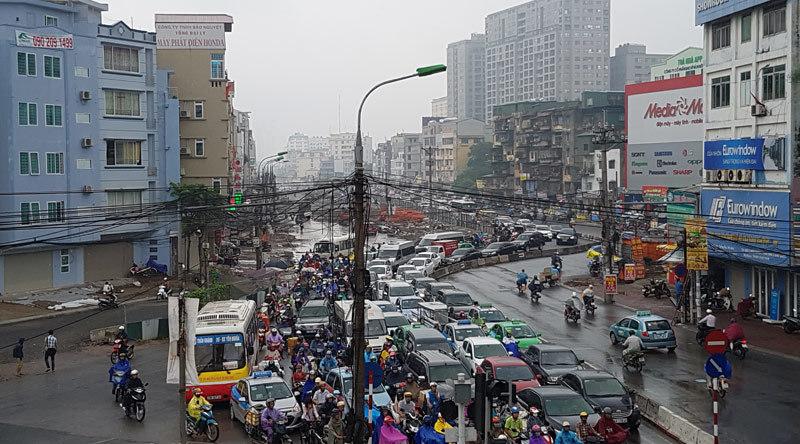 đường vành đai 2, đường cong mềm mại, đường Trường Chinh
