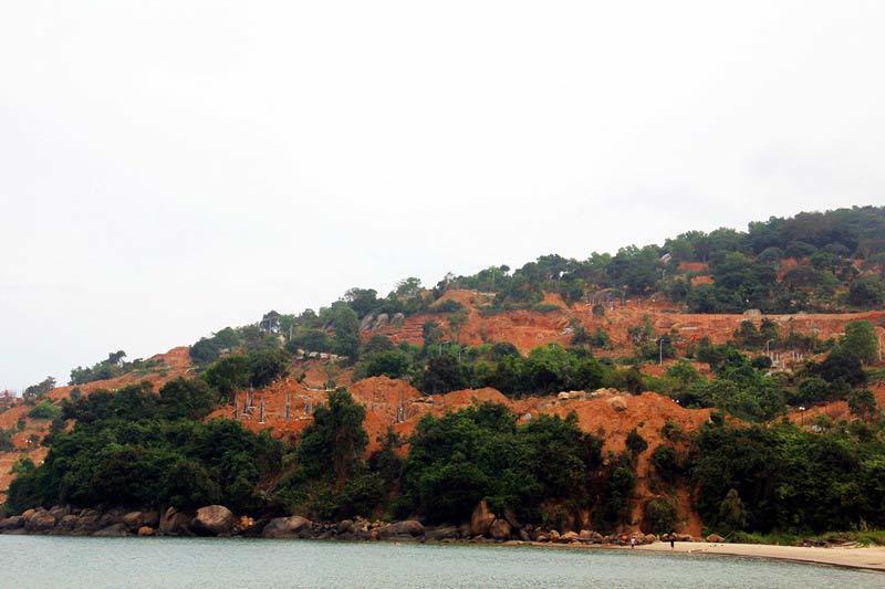 Đà Nẵng, bán đảo Sơn Trà, biệt thự trái phép, cày xới bán đảo Sơn Trà