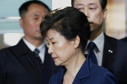 cựu Tổng thống Hàn Quốc, bà Park Geun-hye, thượng tôn pháp luật, tham nhũng,