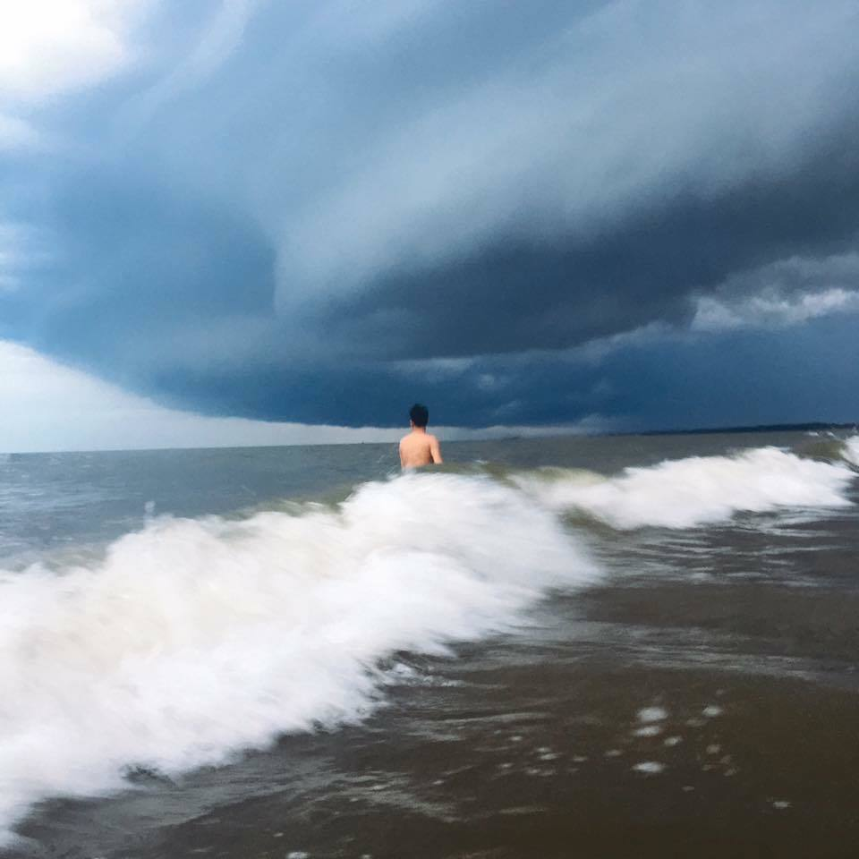 Supercell cloud, Hiện tượng lạ, Bão, Sầm Sơn, Thanh Hóa