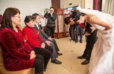 đám cưới, Trung Quốc, giới tính, cô dâu