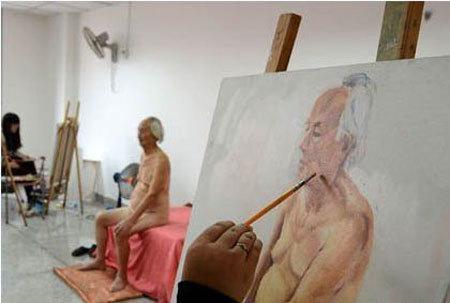mẫu nude, thù lao
