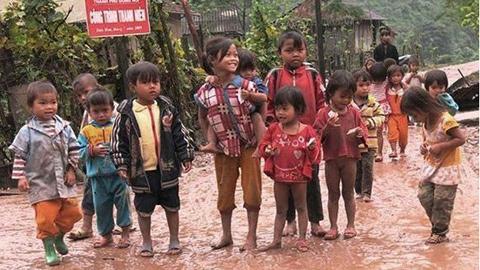 trẻ em, vùng cao, lạnh, học sinh, vùng sâu, nghèo