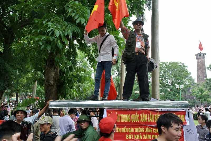 Ấn tượng trong tuần, Kỳ Duyên, vận mệnh, nước Việt, Trung Quốc, đục nước thả giàn khoan, một mình một chợ, lòng yêu nước, vì lợi ích dân tộc, bất biến