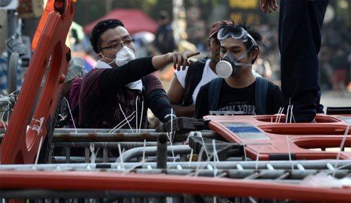 biểu tình, Hong Kong, xô xát, ẩu đả