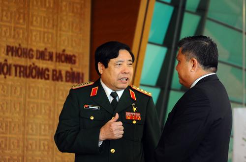 Phùng Quang Thanh, Biển Đông, DOC, TQ