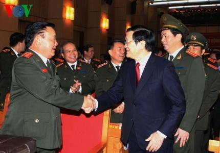 công an, bộ công an, Chủ tịch nước, Trương Tấn Sang, tự diễn biến, tự chuyển hóa