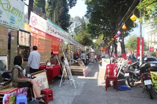 phố ông đồ; Sài Gòn