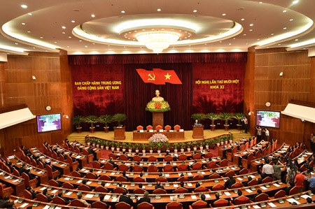 hội nghị TƯ 11, Tổng bí thư, Nguyễn Phú Trọng, nhân sự, ủy viên TƯ, Bộ Chính trị, Ban Bí thư, Long Thành, chính quyền địa phương, HĐND