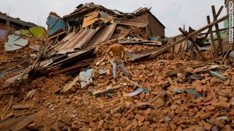 động đất, địa chấn, dư chấn, Nepal