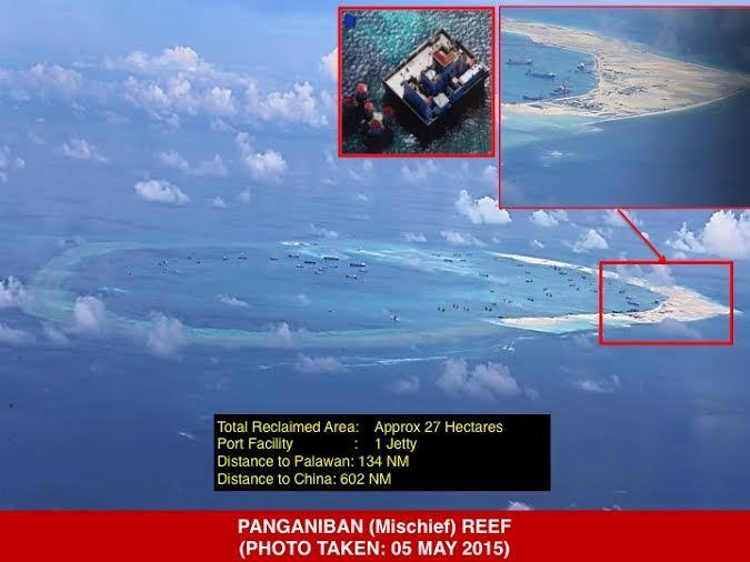Philippines, Trung Quốc, đảo nhân tạo, biển Đông, Trường Sa, Hoàng Sa