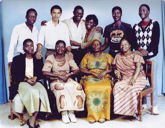 Barack Obama, quê nội, Kenya, thời trai trẻ