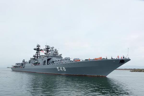 hải quân, Nga, Đà Nẵng, chiến hạm, sát thủ săn ngầm, tàu ngầm