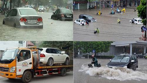 Bí kíp, lái xe, ngập nước