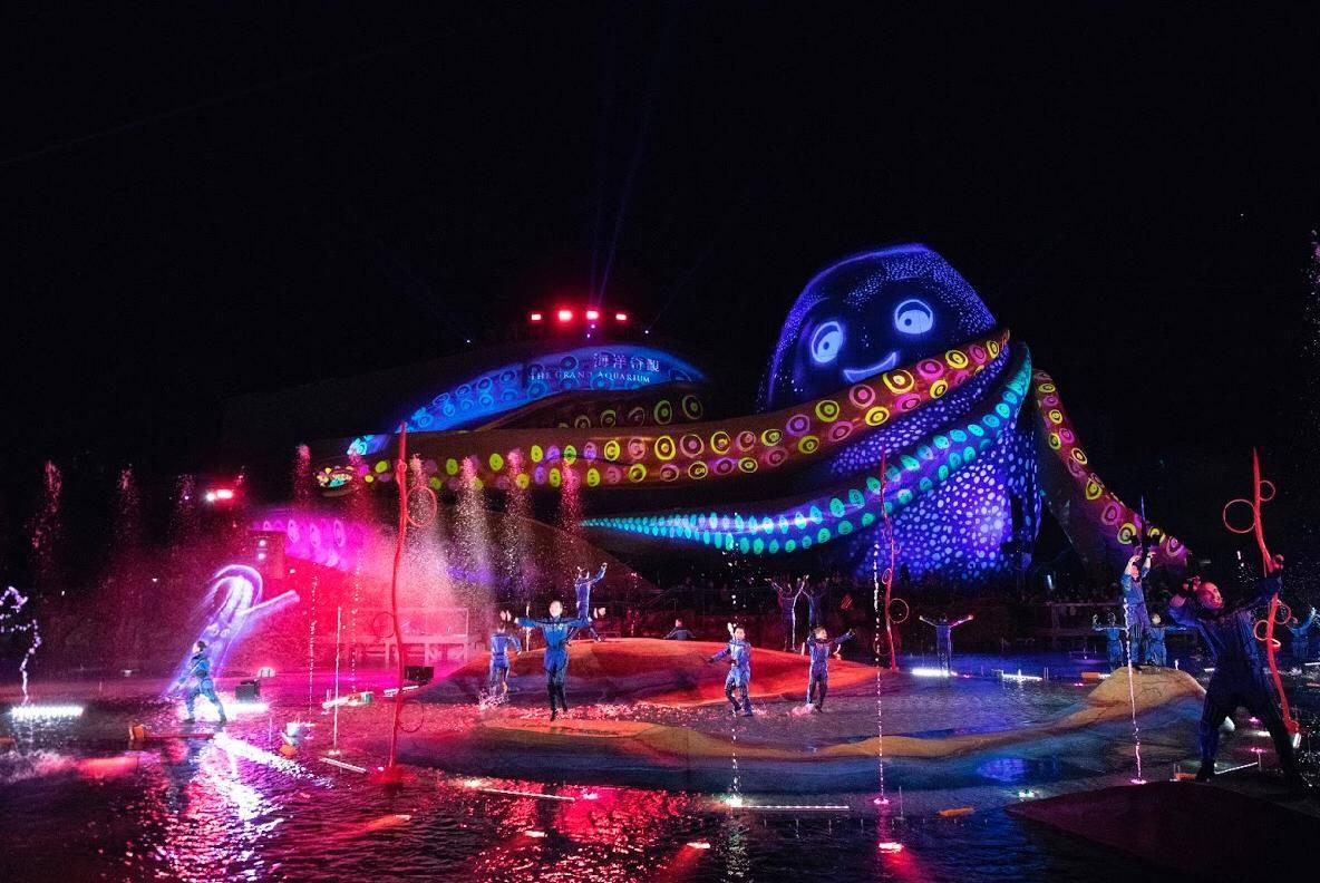 海洋公園全新「光影盛夜」 水上光雕投影匯演開幕優惠$416由早玩到夜 | 香港好去處 | 新假期