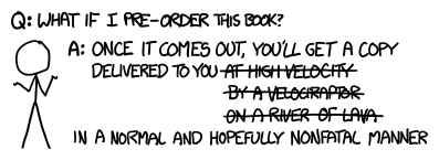 What if i wrote a book xkcd preorder urtaz Gallery