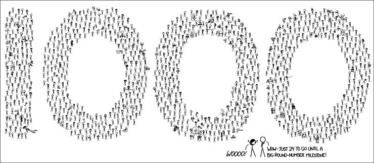 xkcd comic #1000