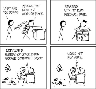 A-minus-minus cartoon by XKCD