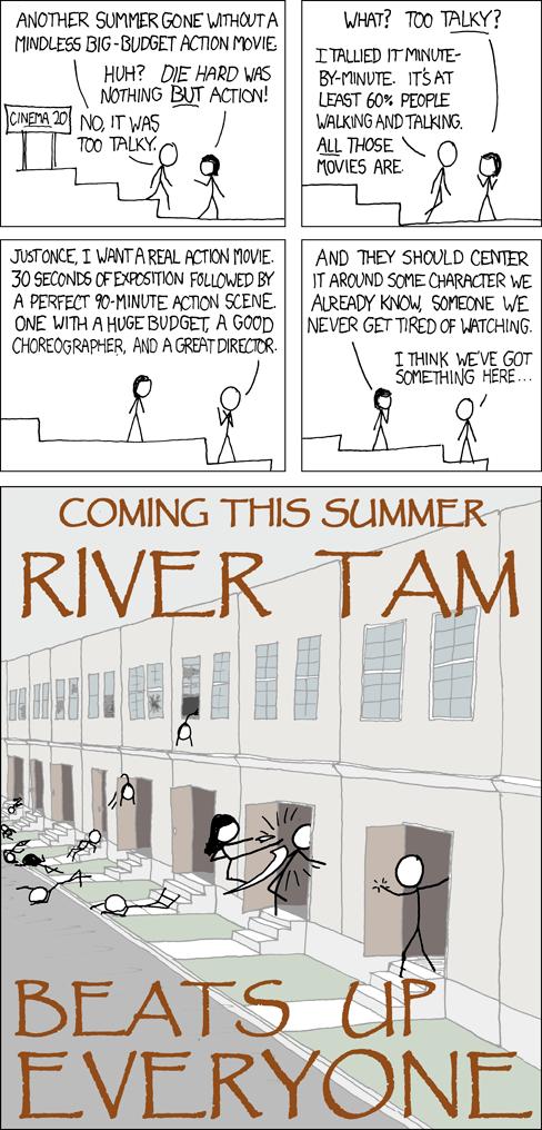 River Tam - XKCD