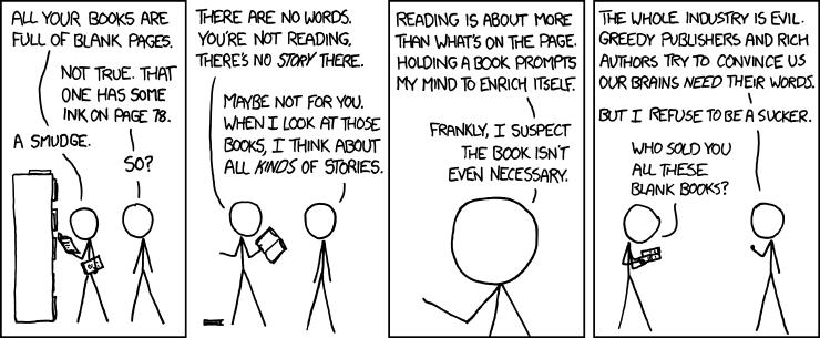 xkcd: Alternative Literatue
