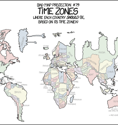 bad map projection time zones [ 1480 x 1015 Pixel ]