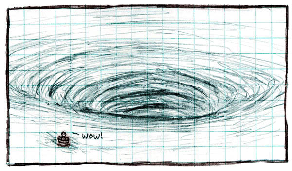 A whirlpool! by xkcd