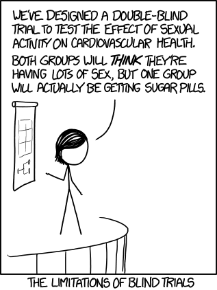 xkcd Blind Trials